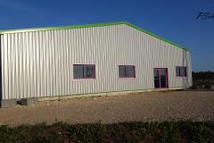 Construction hangar PSAV
